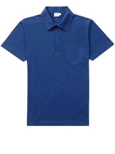 Riviera Polo Shirt Cobalt Polo Shirts Men