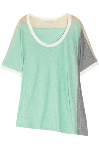 Clu color block Jersey Top on LoLoBu