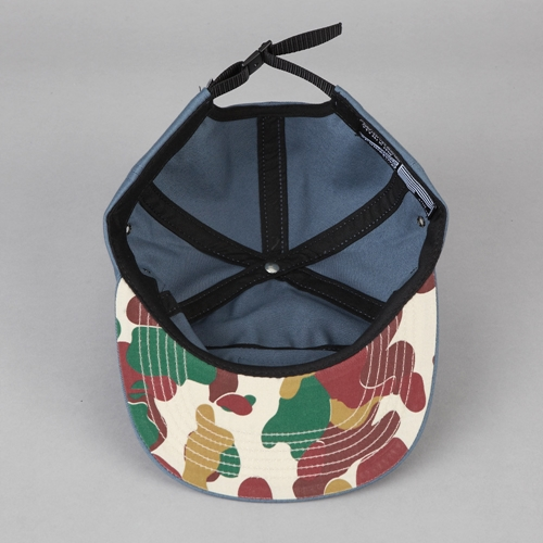 Flatspot Huf Death From Above 6 Panel Volley Cap Slate