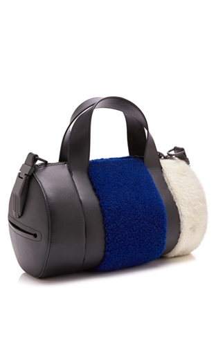 Syd Small Satchel In Cobalt By Opening Ceremony Moda Operandi