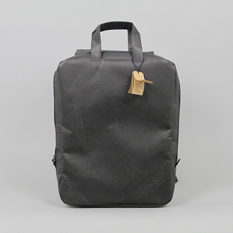 Square Backpack in Black Naoron OEN Shop