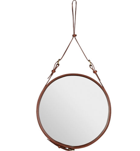 Adnet Mirror Brown GUBI