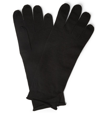Acne Studios Nils Wool Gloves Mr Porter