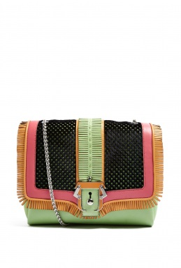 Paula Cademartori Icon Alice Folk Bag With Chain Strap By Paula Cademartori