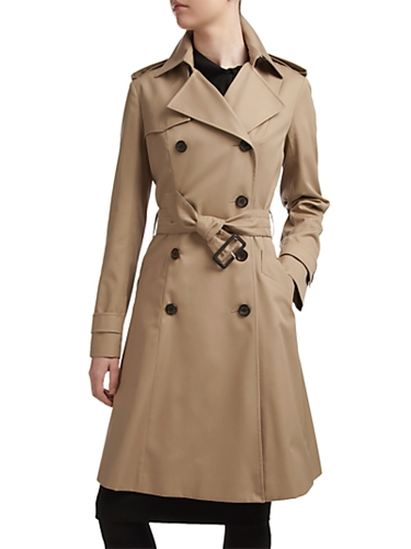 Buy Aquascutum Lana Belted Swing Raincoat Beige online at JohnLewis com John Lewis