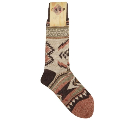 Chup Cil Socks Brown
