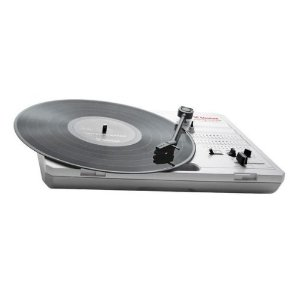 Amazon com Vestax Handy Trax USB Portable Turntable w USB Musical Instruments