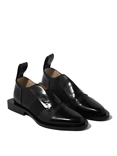 Paco Rabanne Womens Leather Flat Slip On Shoes Ln Cc