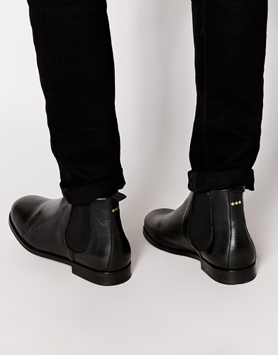 boss chelsea boots