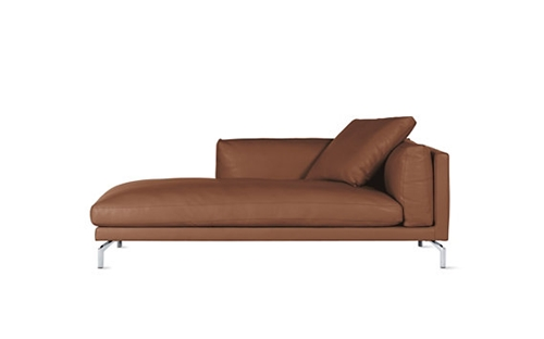 Como chaise in leather right nuji - House pour chaise ...