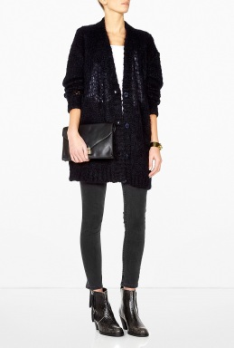 Acne Ono Mohair Oversized Cardigan By Acne