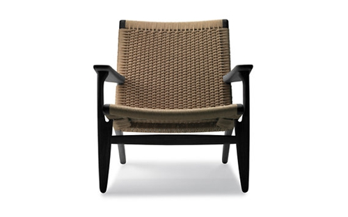 Easy Chair Black Natural Design Within Reach