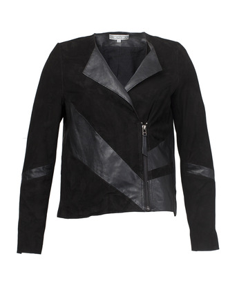 Dagny leather suede jacket House of Dagmar