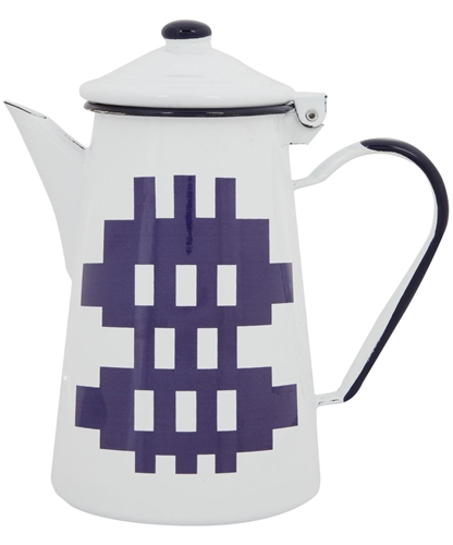 White Enamel Caernarfon Teapot Blodwen Shop more from the Kitchen And Dining collection at Liberty co uk