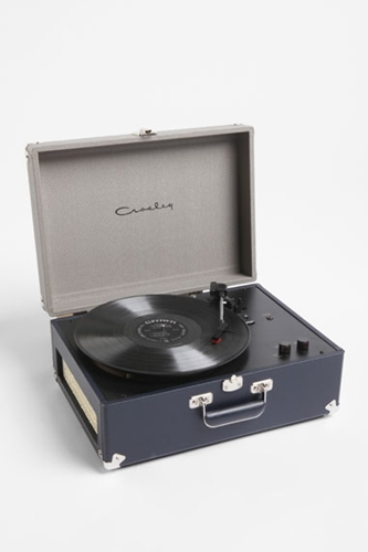 Urban Outfitters Crosley AV Portable Tweed Turntable EU