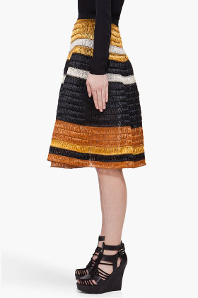 Proenza Schouler Woven Knit Skirt for women SSENSE