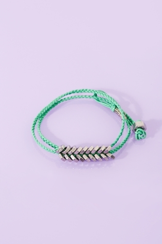 Hex Wrap Bracelet Mint In Accessories At Nasty Gal