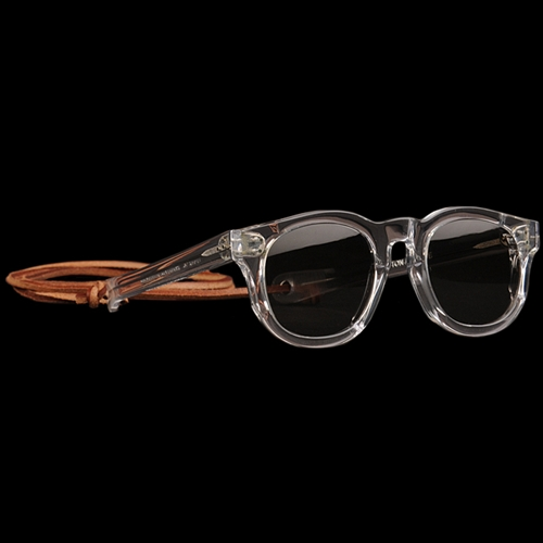 Unionmade Tender Flattened Sunglasses In Gin Clear Cotton Acetate