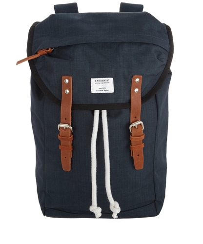 Navy Hans Hiking Backpack Sandqvist Shop the latest Sandqvist collection at Liberty co uk