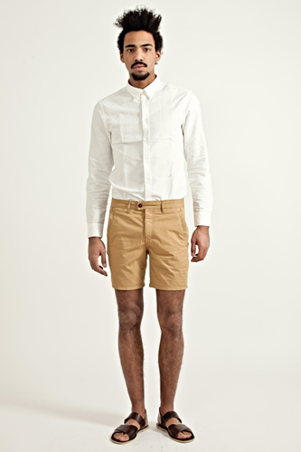 Acne Cheslyn Shorts Honey Beige TRES BIEN
