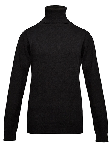 Esk Womens Sophia Roll Neck Cashmere Sweater Ln Cc