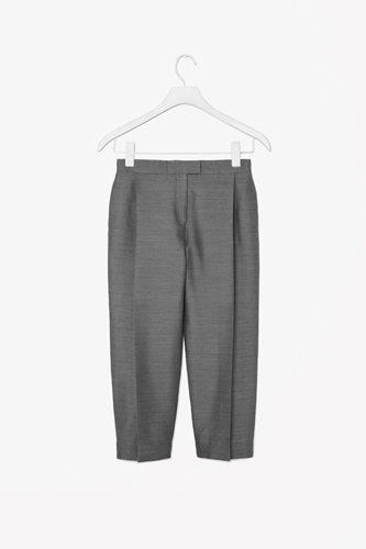 Deep Pleat Trousers