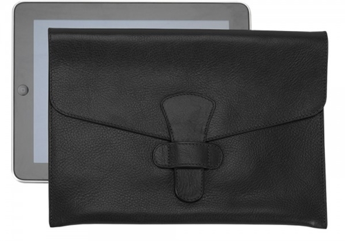 Flapover Leather iPad Case iPad Cover Lotuff Leather