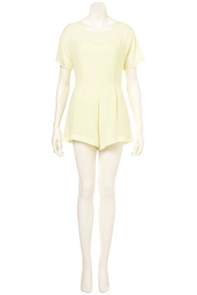 Chiffon Overlay Playsuit New In This Week New In Topshop USA