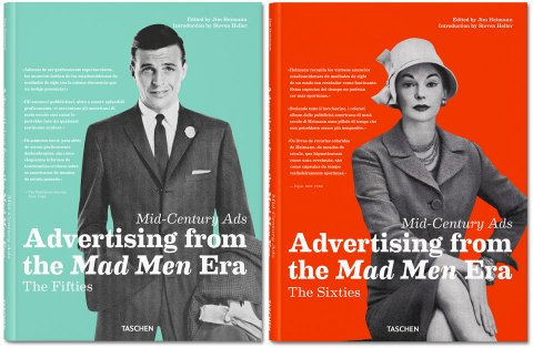 Mid Century Ads Advertising from the Mad Men Era TASCHEN Books