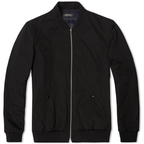 A.P.C Croft Ii Jacket Black