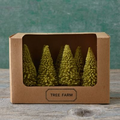 Brush Tree Farm Set