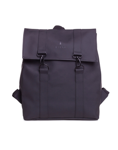 Rains Msg Backpack Black Soto Berlin
