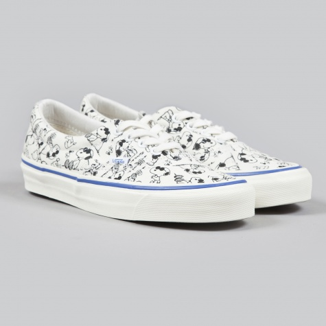 Vans X Snoopy Og Era Lx Camp Snoopy Classic White