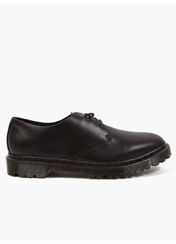 Men's Black Raw Brando Leather Shoes