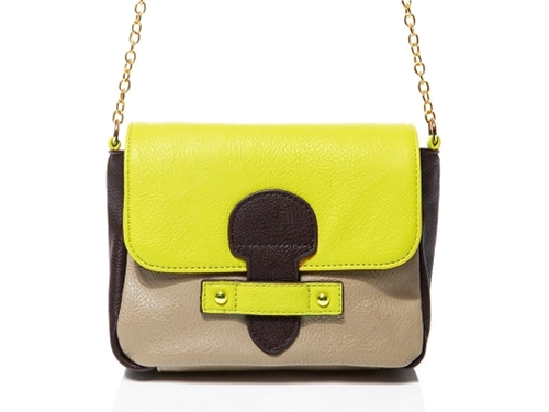 Laugoa Color Block Mini Crossbody from Jeannie Mai on OpenSky