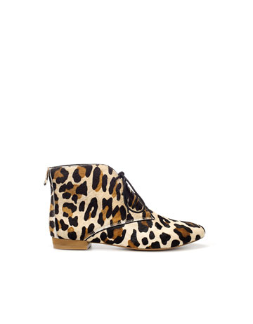 flat leopard print boot boots and ankle boots shoes nuji