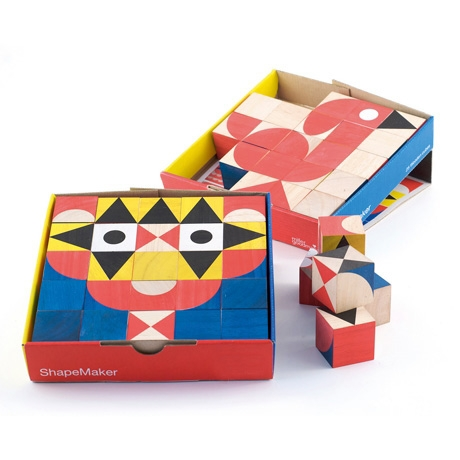 Poketo ShapeMaker Wooden Blocks