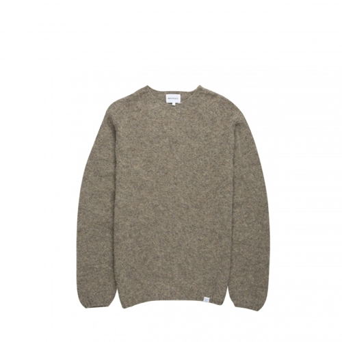 Knitted Wool Sweater In 100 Wool Made In Scotland. Norse Projects