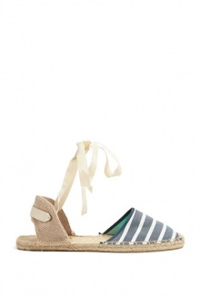 Woven Classic Ankle Strap Espadrilles By Soludos