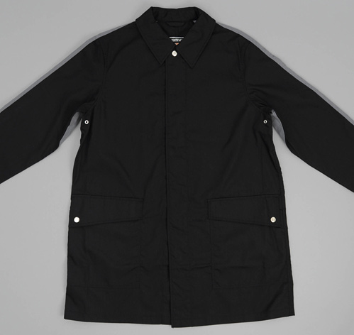Aro Coat Black Heather Grey Hickoree's