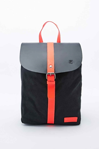 Forbes Lewis Canvas Littlehampton Backpack In Black Urban Outfitters
