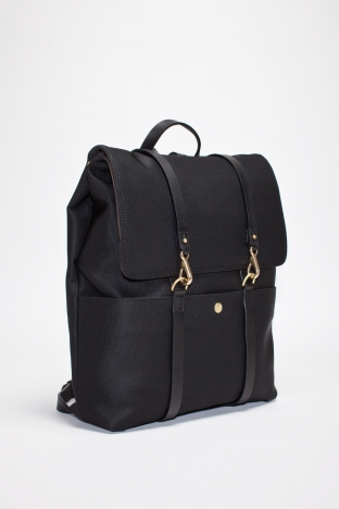 Mismo Backpack Nylon Black Black TRES BIEN