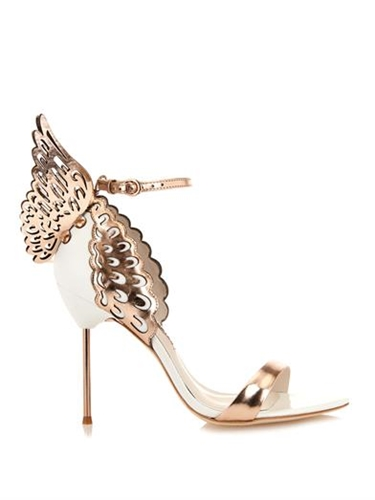 Evangeline Angel Wings Leather Sandals Sophia Webster Matc...