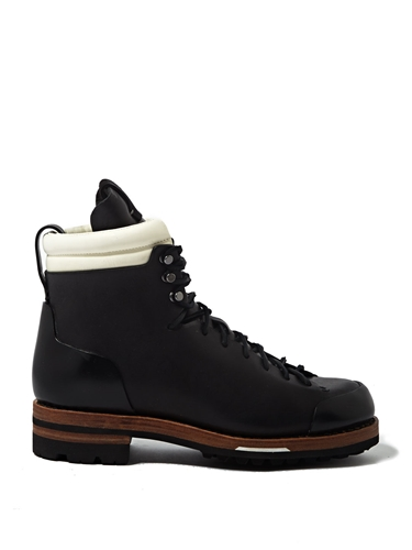 Feit Mens Tall Leather Arctic Hiker Boots Ln Cc
