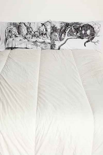 Alice Tea Party Pillowcase Set Of 2 Urban Outfitters