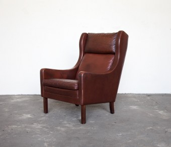Shop Sit and Read Borge Mogensen Wingback Chair