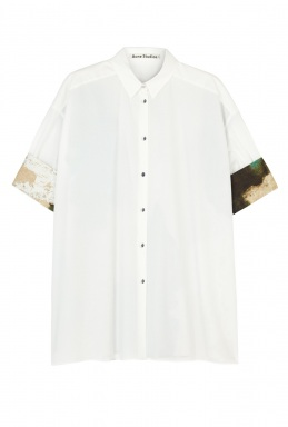 Acne Loop Wall Printed Back Shirt By Acne