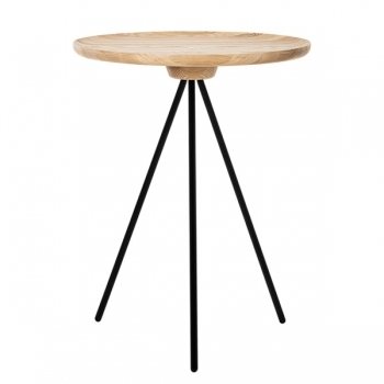 Key Side Table Ash Black One Nordic Key Tables Furniture Finnish Design Shop