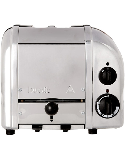Dualit Polished Stainless Steel 2 Slice Toaster Kitchen Appliances By Dualit Liberty.Co.Uk