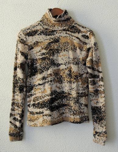 Raf Simons Digital Camo Knit Sweater eBay